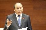 Thủ tướng trả lời chất vấn của đại biểu Quốc hội về xử lý ô nhiễm môi trường