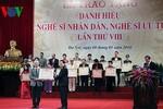Lập Hội đồng cấp Nhà nước xét tặng Nghệ sĩ Nhân dân, Nghệ sĩ Ưu tú lần thứ 9