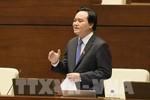 Bộ trưởng Bộ Giáo dục được phân công chuẩn bị báo cáo 2 dự án luật