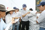Xuất cấp gạo cho 2 tỉnh Ninh Thuận và Bình Định