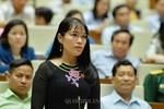 Đại biểu Châu Quỳnh Dao hỏi 3 Bộ về xã hội hóa và lạm thu