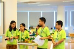 Học sinh Ban Mai tham gia sự kiện STEM toàn cầu