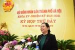 Ủy viên Bộ Chính trị Tòng Thị Phóng đề nghị đại biểu bỏ phiếu tín nhiệm công tâm