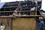 Hình ảnh hoang tàn sau trận mưa đá ở Lào Cai