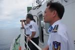 Cảnh sát biển Việt Nam xuất trận 'truy' tàu lạ Biển Đông