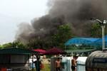 Hà Nội: Cháy lớn tại khu vui chơi thiếu nhi Mỹ Đình