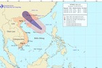 Bão số 3 tiến sát quần đảo Hoàng Sa, tâm bão có gió giật mạnh cấp 11