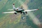 Ảnh: Cảnh luyện tập bay của các học viên phi công ở Trung đoàn 920