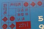 Giật mình phát hiện bảng chữ cái Trung Quốc in trên bàn học sinh