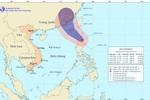 Tin bão gần trên Biển Đông