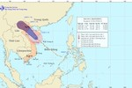Bão số 6 tiến sát bờ biển Hải Phòng - Thanh Hóa