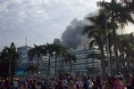 Cháy lớn tại nhà máy sản xuất giầy Pou-Yuen Việt Nam