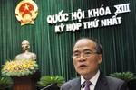 """QH thông qua Hiến pháp sửa đổi: """"Thời khắc lịch sử quan trọng đã đến"""""""