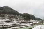Xuất hiện tuyết rơi trên diện rộng ở huyện Mèo Vạc (Hà Giang)