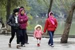 Không khí lạnh tăng cường xuống các tỉnh miền Bắc