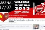 Dân mạng bàn tán xôn xao vì các cầu thủ Arsenal sang Việt Nam