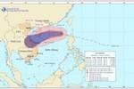 Diễn biến của cơn bão số 12: Gió giật cấp 14, cấp 15 biển động dữ dội