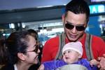Hình ảnh gia đình Jennifer Phạm về Việt Nam sau 1 năm vắng bóng
