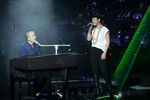 Quốc Trung cám ơn 'sự chân thành với âm nhạc' của Hà My ở Chung kết