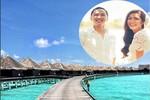 Vợ chồng Hà Tăng khoe ảnh du lịch 'thiên đường Maldives'