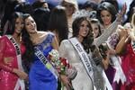 Nhan sắc rạng ngời của tân Hoa hậu Hoàn vũ 2013