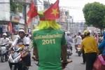 Hóa trang độc đáo mừng ngày 20/11 trên đường phố Sài Gòn