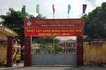 Đình chỉ chức vụ Hiệu trưởng Trường tiểu học Đặng Cương vì lạm thu