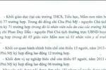 """Huyện Phú Xuyên nói ông Mỹ ký 89 """"suất"""" trước khi về Giám đốc Sở Nông nghiệp"""