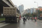 Xe tải, xe bồn náo loạn trong giờ cấm, CSGT đội 6 Hà Nội cứ tiếp tục ngó lơ?