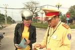 Cảnh sát giao thông Quang Bình ra quốc lộ chặn xe là trái thẩm quyền