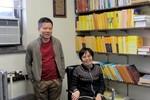 Phòng làm việc khiêm nhường của GS Ngô Bảo Châu tại Mỹ