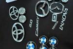Bắt nhóm thanh niên chuyên trộm logo xe ô tô đắt tiền