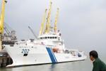 Cận cảnh tàu Lực lượng Bảo vệ bờ biển Ấn Độ đến Đà Nẵng