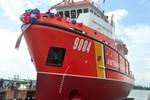 Đặt ky tàu Cảnh sát biển đáp ứng tiêu chuẩn quốc tế