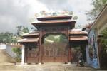 Công bố quyết định xử phạt xây biệt thự trái phép của tướng Thạch