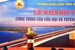 Chủ tịch Nguyễn Sinh Hùng dự khánh thành công trình quan trọng ở Quảng Nam