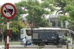 Bất chấp phản ứng của dân, bãi xe ở công viên âu thuyền Thuận Phước vẫn được xây