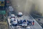 Nhật Bản sập hầm hiện đại, 7 người đang mắc kẹt