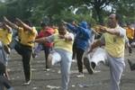 Indonesia buộc các cảnh sát béo phải giảm cân
