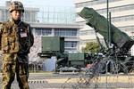 Nhật Bản dàn xong trận địa PAC-3 chờ đón lõng tên lửa BTT