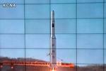 Hiện trường vụ phóng tên lửa Bắc Triều Tiên