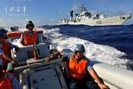 3 tàu chiến HĐ Bắc Hải Trung Quốc bất ngờ kéo xuống Biển Đông nhả đạn