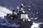 Tên lửa tàu khu trục Trung Quốc ngắm bắn tàu hộ vệ Nhật ở Hoa Đông