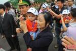 Trung Quốc trao trả 10 trẻ em Việt Nam bị bắt cóc