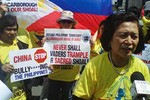 Kiều dân Philippines toàn cầu chống Trung Quốc bành trướng Biển Đông