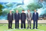 Kim Jong-un tiếp đoàn Syria thay mặt Bashar al-Assad dự kỷ niệm 27/7