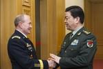 Bộ trưởng QP Trung Quốc thăm Mỹ tìm cách xây dựng quan hệ nước lớn