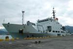 Tàu khảo sát hải quân Đài Loan hoạt động trái phép tại Trường Sa