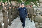 Kim Jong-un thị sát các đảo tiền tiêu biên giới 2 miền Triều Tiên