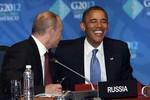 Putin: Làm việc với Obama rất thú vị